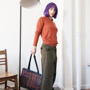 Vintage Tapestry Handbag Purse